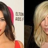 Kim Kardashian, antes y despu�s de su cambio radical de look