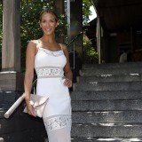Tamara Gorro, radiante de blanco en la boda balinesa de Lydia Lozano y Charly