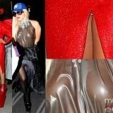 Lady Gaga: �pillada sin ropa interior y con sus partes �ntimas al aire!
