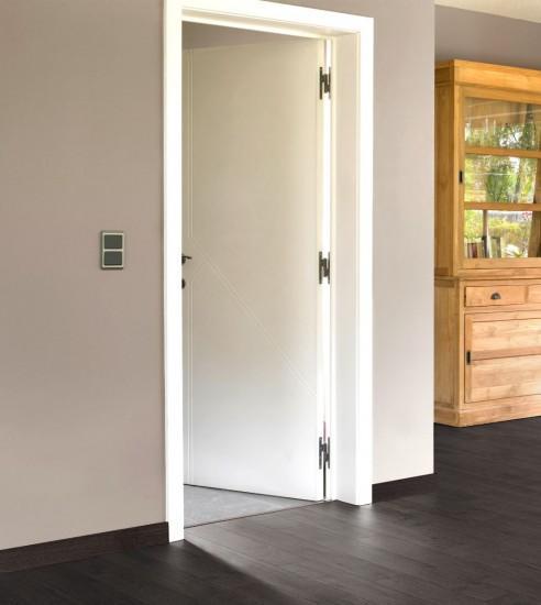 Las puertas blancas lacadas lisas o con finas - Puertas lacadas blancas ...
