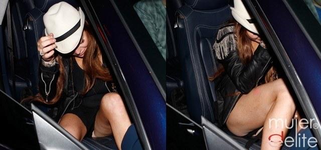 Lindsay Lohan Tiene Un Descuido Con Su Ropa Interior