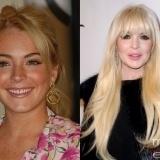 El antes y el despu�s de Lindsay Lohan