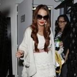Lindsay Lohan, fan de las fiestas nocturnas