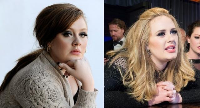 El antes y despu�s de Adele