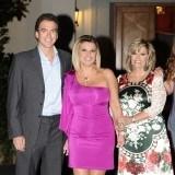 Terelu Campos con su novio Carlos Pombo y su madre Mar�a Teresa Campos