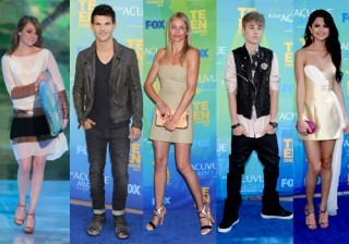 Selena G�mez, Justin Bieber y Ashley Greene, de fiesta en los Teen Choice Awards