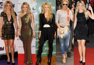 �Copia el look de Shakira!