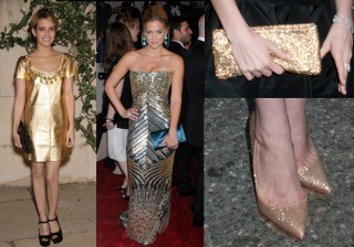 �Blake Lively, Eugenia Silva y Kim Kardashian se apuntan a la moda del dorado!