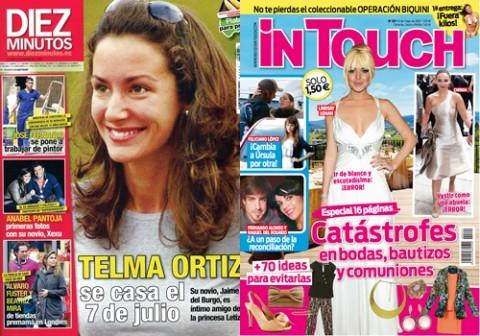 Las portadas de las revistas del coraz n de esta semana 25 for Revistas de espectaculos de esta semana