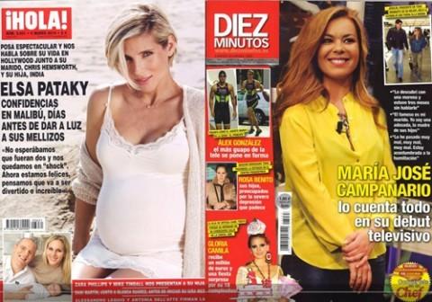 Las portadas de las revistas del coraz n de esta semana 26 for Revistas de espectaculos de esta semana