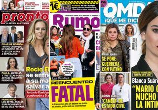0ffbcbf18a1 Cristina Cifuentes y Blanca Suárez en las portadas de las revistas del  corazón a 30