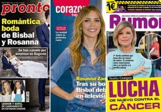 468e7213fc8 La boda de Bisbal y Rosanna y la nueva lucha de Terelu Campos