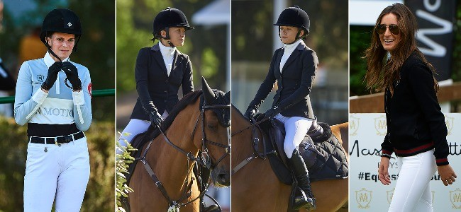 Mary Kate Olsen, Jessica Springsteen y Athina Onassis ponen el glamour a la hípica madrileña