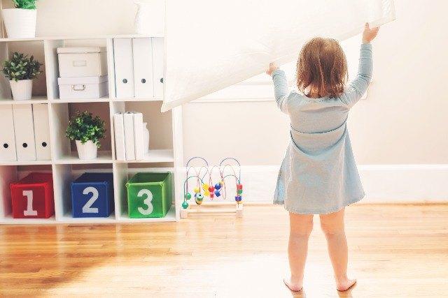 Foto Los estores, la elección de preferencia en habitaciones infantiles y juveniles