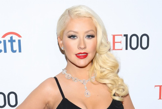 Foto Polvos de talco, el truco de Christina Aguilera para lucir un pelo brillante