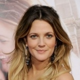 Drew Barrymore con mechas californianas
