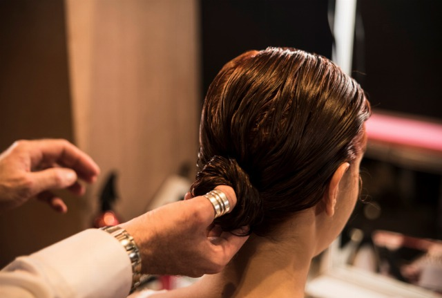 Foto El Low Knot puede convertirse en un peinado muy elegante