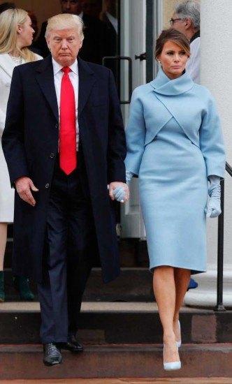 Foto Melania Trump apuesta por recogidos sobrios y elegantes para las citas más formales