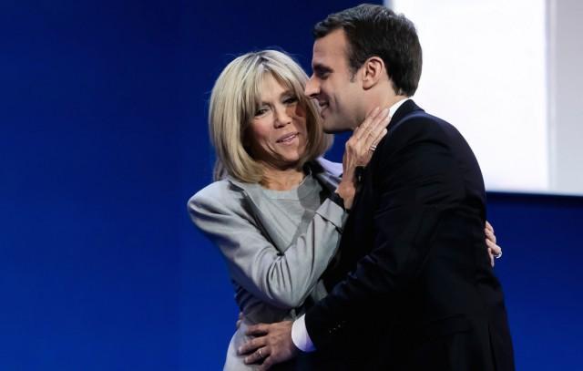 Foto El peinado, corte y color de pelo de Brigitte Trogneux, la nueva primera dama francesa