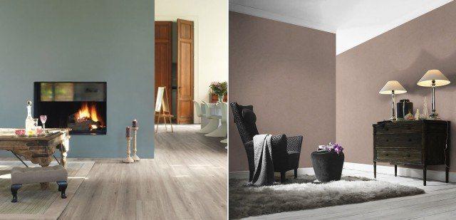 Foto Los colores marrones son perfectos para salones y el gris transmite orden y paz
