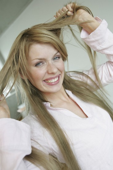 Foto Trucos para evitar el pelo encrespado