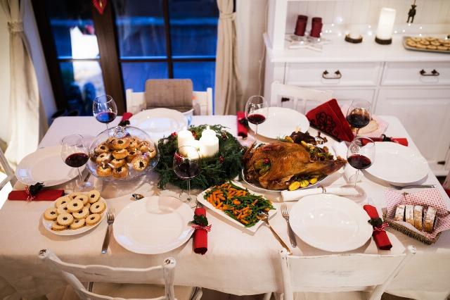 Foto Un menú barato, rápido y elegante es posible en Navidad