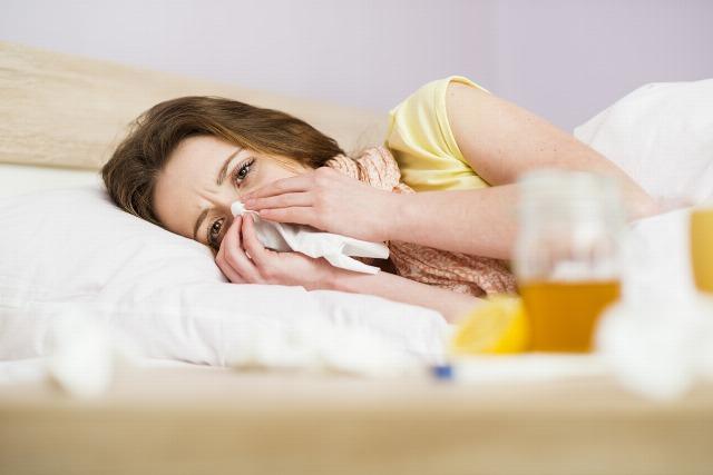 Foto Los síntomas de la gripe