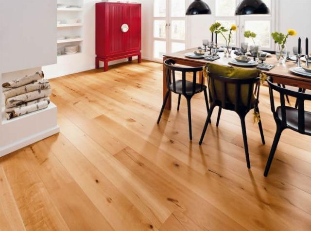 Foto Trucos para suelos de madera
