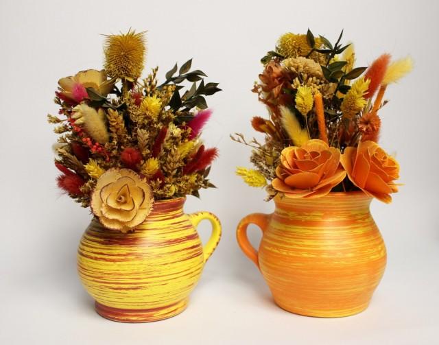 Foto Consejos para hacer un centro de flores secas