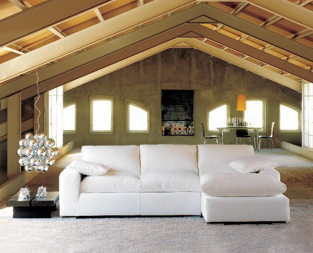 Foto Amarillos y ocres en el salón, garantía de relax y confort