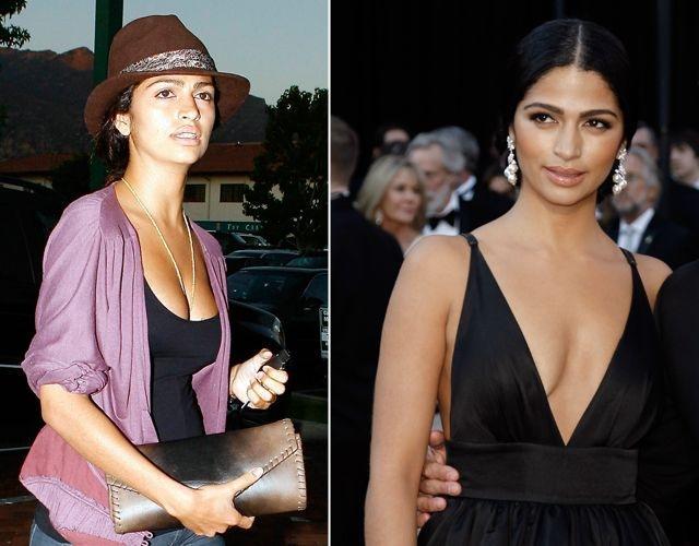 Foto Los pechos de Camila Alves antes y después
