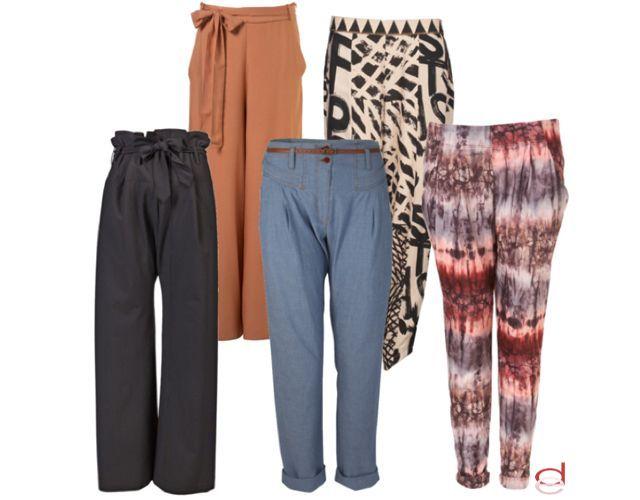 Foto Los pantalones de moda
