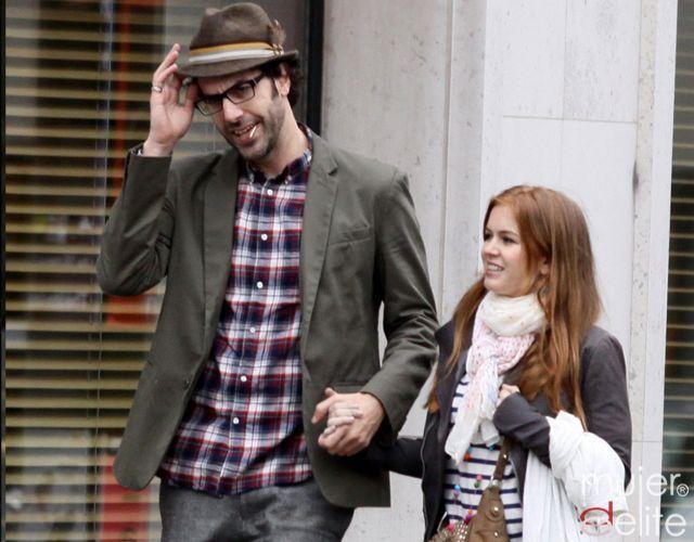 Foto Sacha Baron Cohen y su mujer Isla Fisher