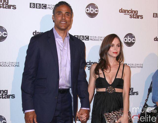 Foto Eliza Dushku y su novio Rick Fox
