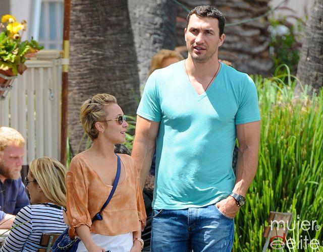 Foto Hayden Panettiere y su novio el boxeador Wladimir Klitschko