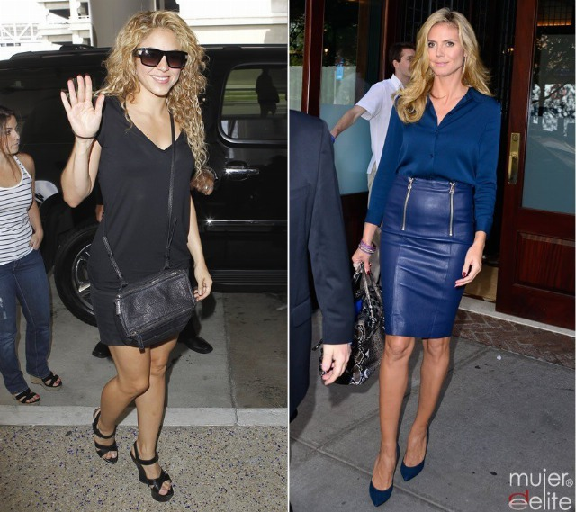 Foto Shakira y Heidi Klum apostaron por el Mommy Makeover para recuperar su figura tres el embarazo