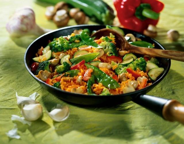 Foto Arroz vegetal, una receta anticrisis