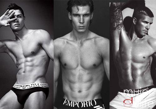 Foto Beckham, Nadal y Ronaldo son imágenes de Armani
