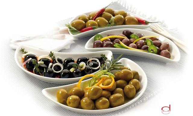 Foto Las aceitunas son el snack saludable y ligero