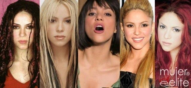 Foto Shakira ha probado, a lo largo de su trayectoria, decenas de peinados