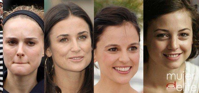 Foto Las famosas más guapas sin maquillaje