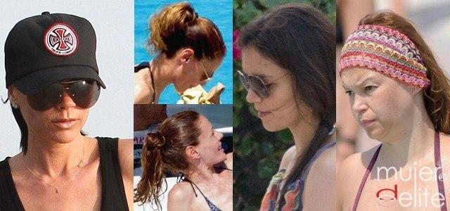 Foto Peinados prácticos y favorecedores para un día de playa