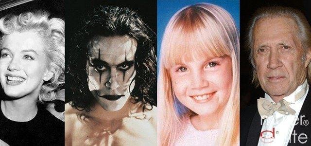 Foto Las misteriosas muertes de los actores de Hollywood