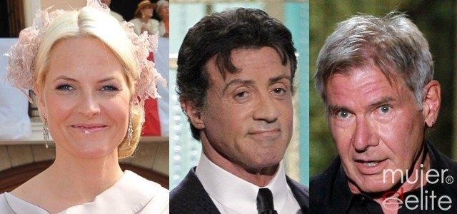 Foto La Princesa Mette Marit de Noruega, Sylvester Stallone y Harrison Ford cuentan con oscuros pasados