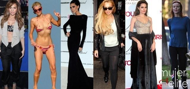 Foto Las famosas y sus arriesgadas dietas