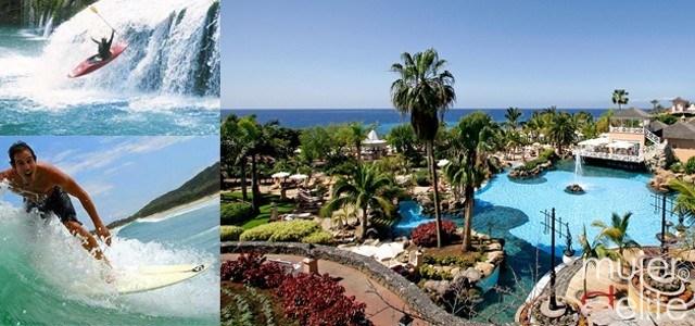 Foto Los mejores hoteles para disfrutar de turismo activo