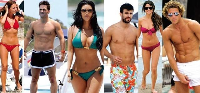 Foto Los famosos más sexys en la playa