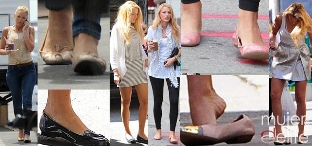 Foto Blake Lively: adicta a los zapatos