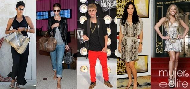 Foto Justin Bieber, entre otros, apuestan por la moda de la serpiente