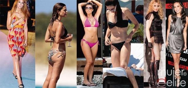 Foto Kim Kardashian, Madonna y Demi Moore lucen su belleza
